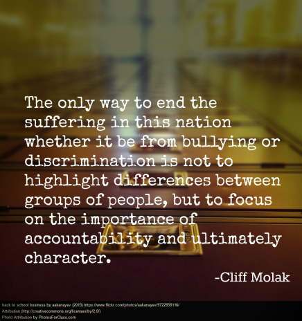 Cliff Molak Quotation