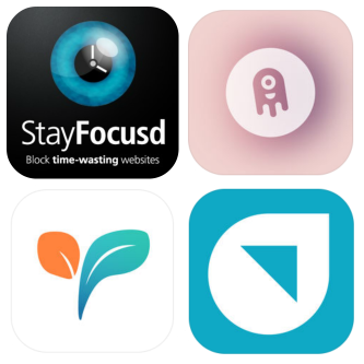 Screentime apps collage
